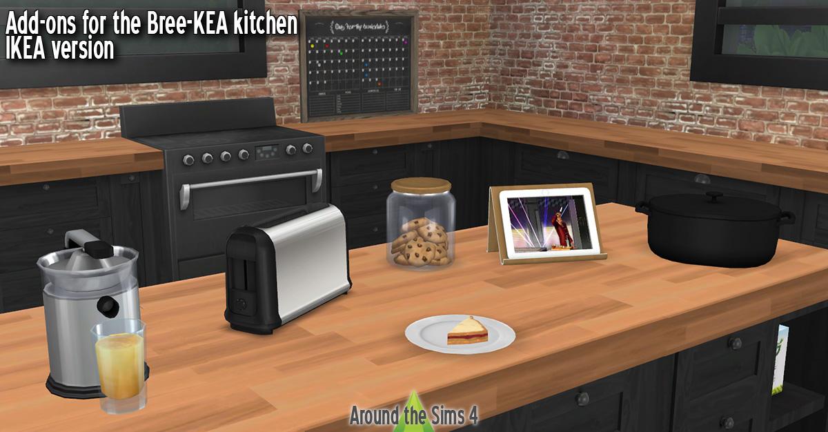 ikea kitchen clutter