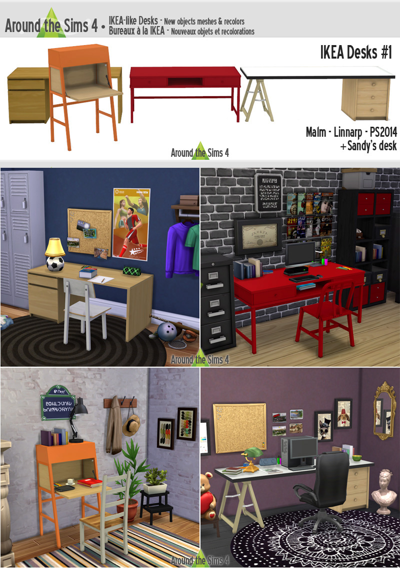 Around The Sims 4 Custom Content Download Objects Ikea