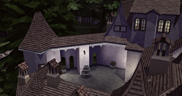 Studio Sims Creation Draculas Bran Castle Sims 4 Downloads