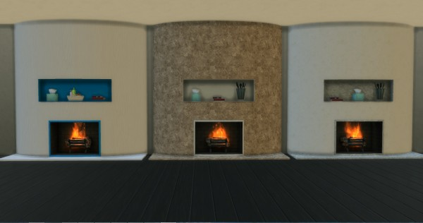 Mod The Sims Fireplace By Adonis Pluto Sims 4 Downloads