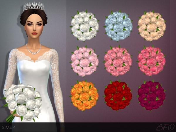 BEO Creations WEDDING BOUQUET Sims 4 Downloads