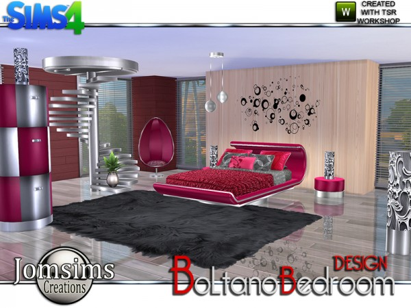 The Sims Resource Boltano Design Bedroom By JomSims