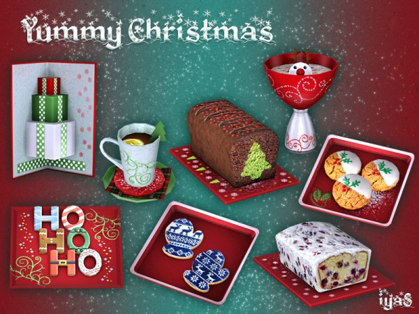 The Sims Resource Yummy Christmas By Soloriya Sims 4
