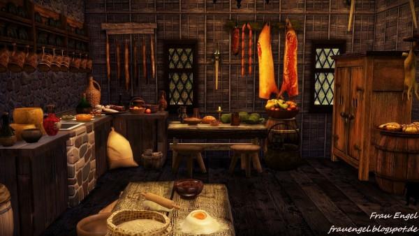 Frau Engel Medieval Bakery Sims 4 Downloads
