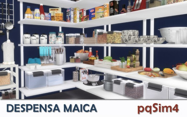 PQSims4 Pantry Maica Sims 4 Downloads