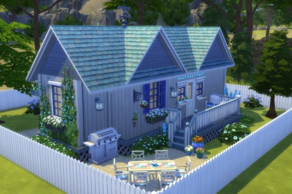 Blackys Sims 4 Zoo Tiny House By Commari Sims 4 Downloads