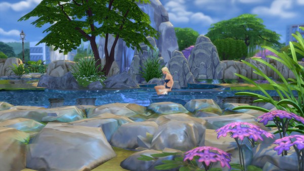Mod The Sims Mermaid Lake Diving Spot By Snowhaze Sims 4 Downloads