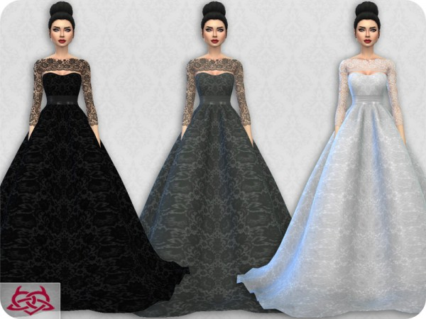 The Sims Resource Wedding Dress 7 Recolor 4 By Colores