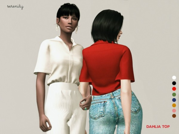 Male 4 Marigold Sims Skirt