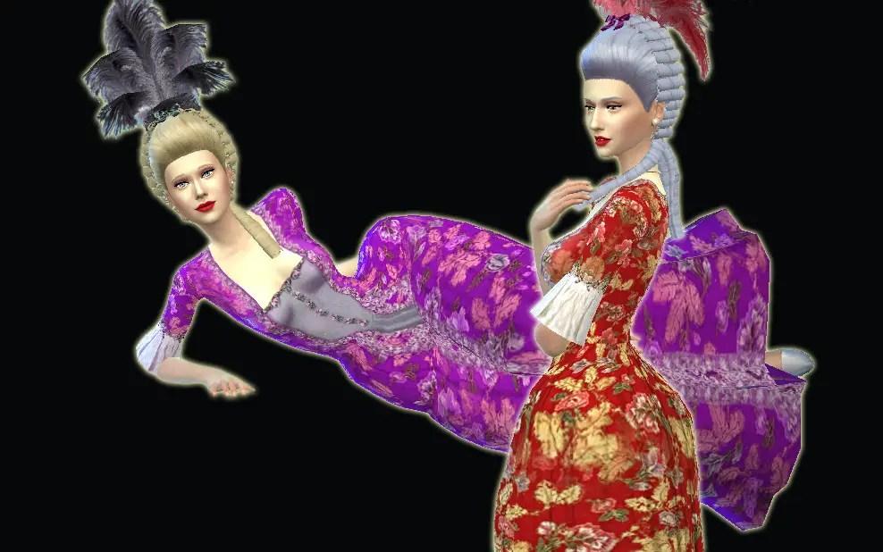 Sims 4 Hairs Mystufforigin Rococo Hair Conversion