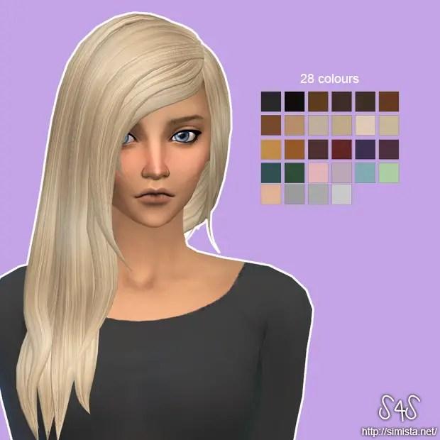 Sims 4 Hairs David Sims David Sims Rock Hairstyle Retexture