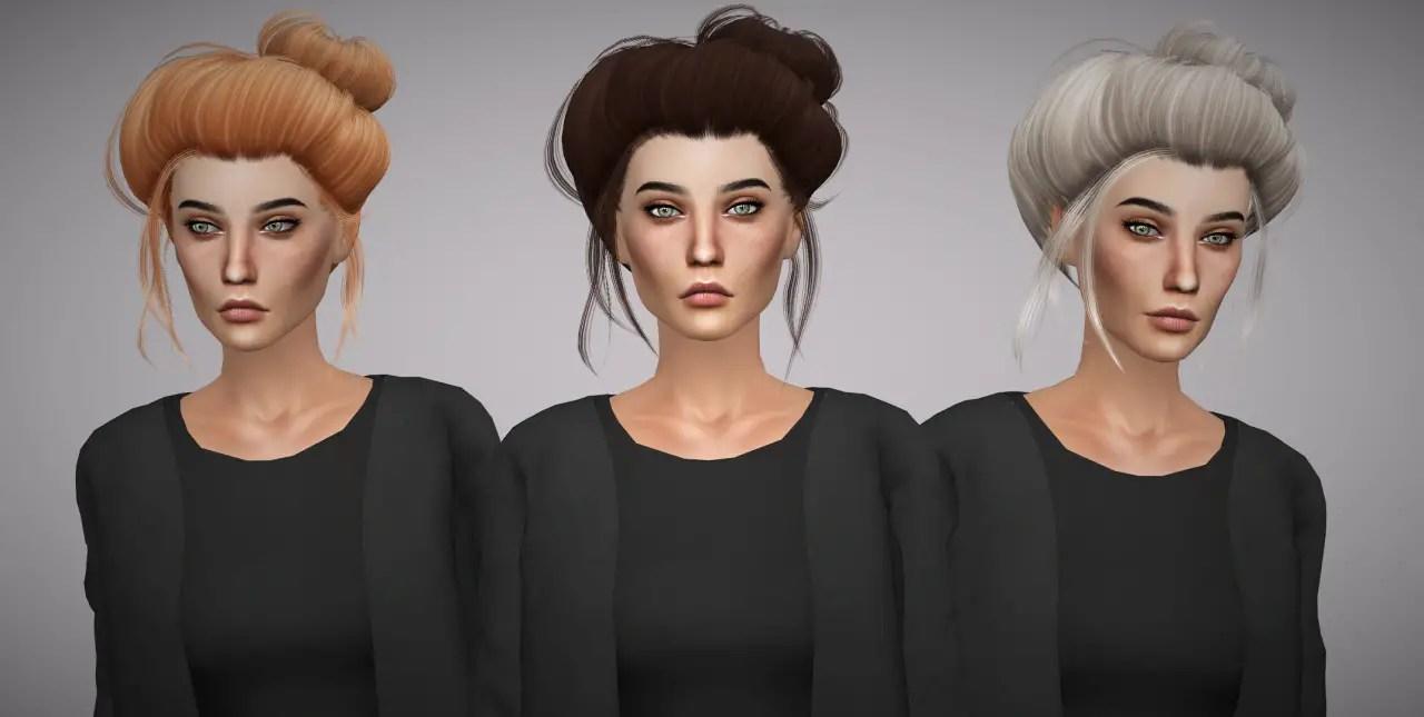 Sims 4 Hairs Aveline Sims LeahLilliths Dandelion Hair