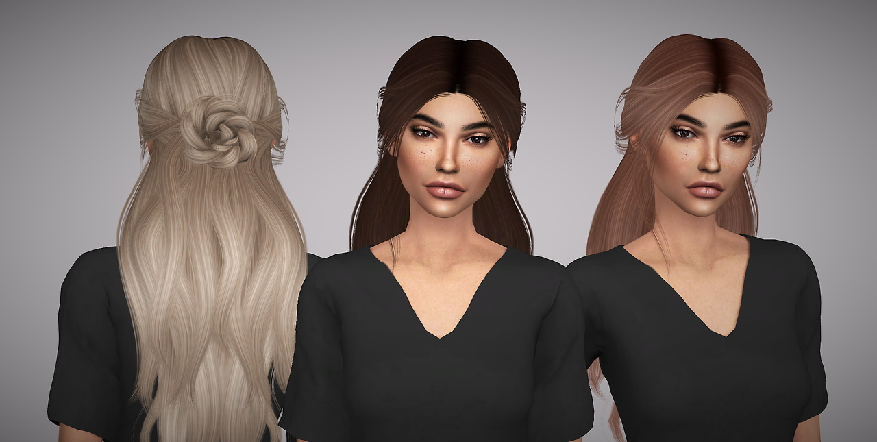 Sims 4 Hairs Aveline Sims LeahLilliths Renaissance