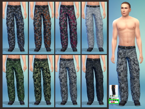 Cargo Pants For Both Genders At Simply Morgan Sims 4 Updates