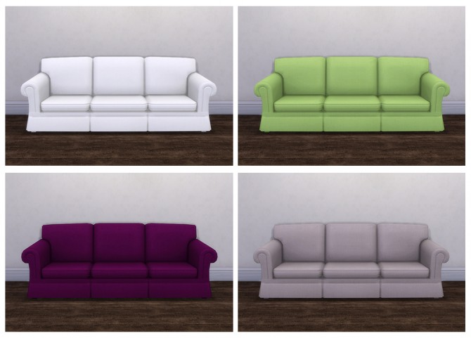 Great Hipster Hugger Sofa Recolors At Saudade Sims 4 Updates