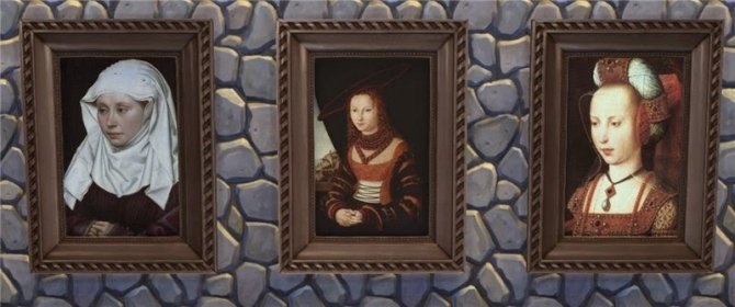 Medieval Portraits At Mara45123 Sims 4 Updates