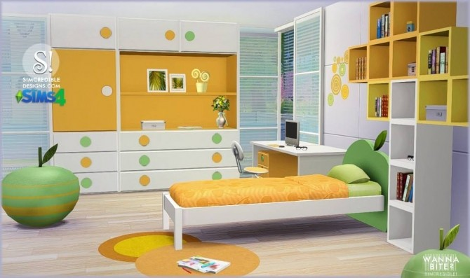 Wanna Bite Kids Room At SIMcredible Designs 4 Sims 4