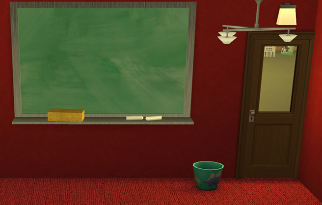 School Chalkboard Recolors By Nightstar At Mod The Sims