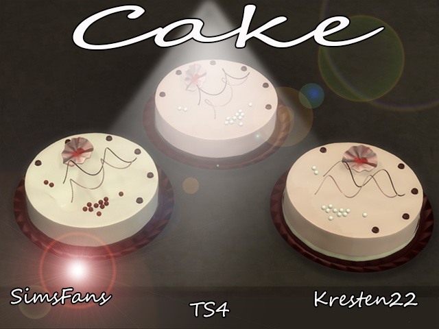 Cake By Kresten 22 At Sims Fans 187 Sims 4 Updates