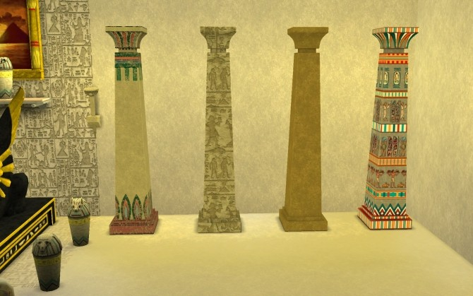 Egypt Relics 2 By G1g2 At Mod The Sims Sims 4 Updates