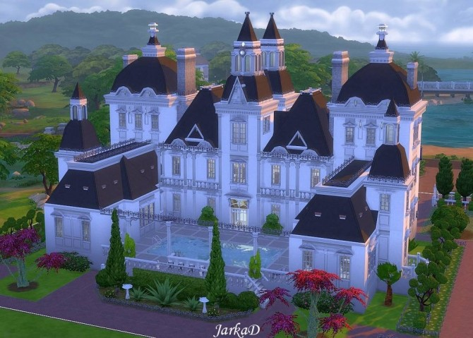 VICTORIA Mansion At JarkaD Sims 4 Blog Sims 4 Updates