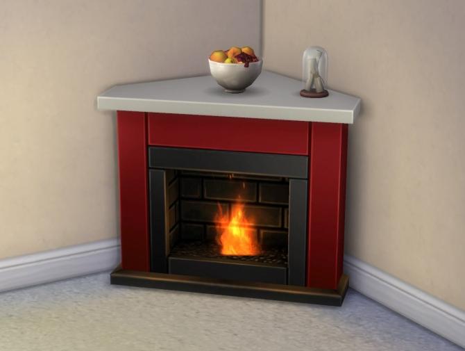 Diagonal Heat Seeker Fireplace Mesh Override By