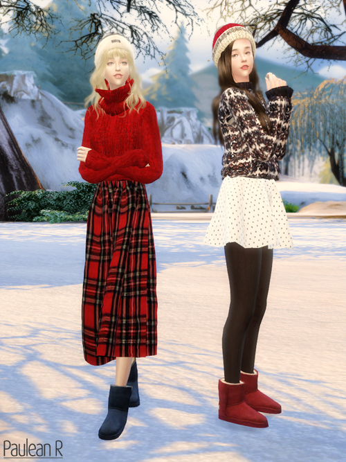 Ugg Boots Classic Mini At Paulean R 187 Sims 4 Updates
