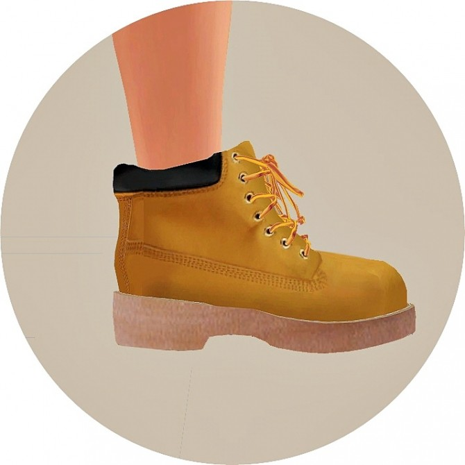 Male Hiking Boots At Marigold Sims 4 Updates