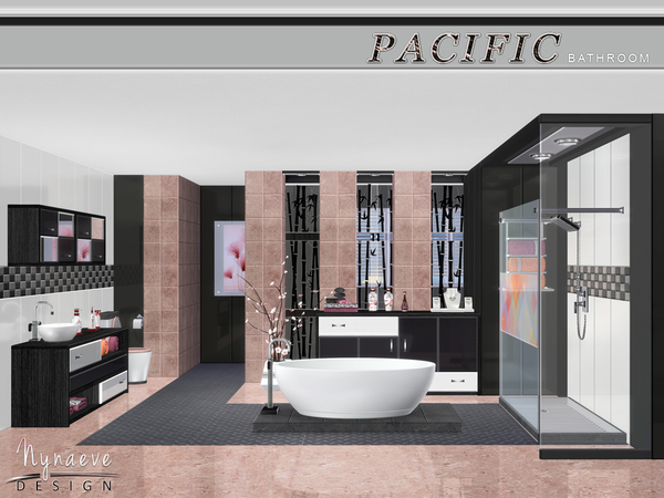Color, style, and cost are important factors to consider, but you also want a toilet that's comfortable. Pacific Heights Bathroom by NynaeveDesign at TSR » Sims 4 ...