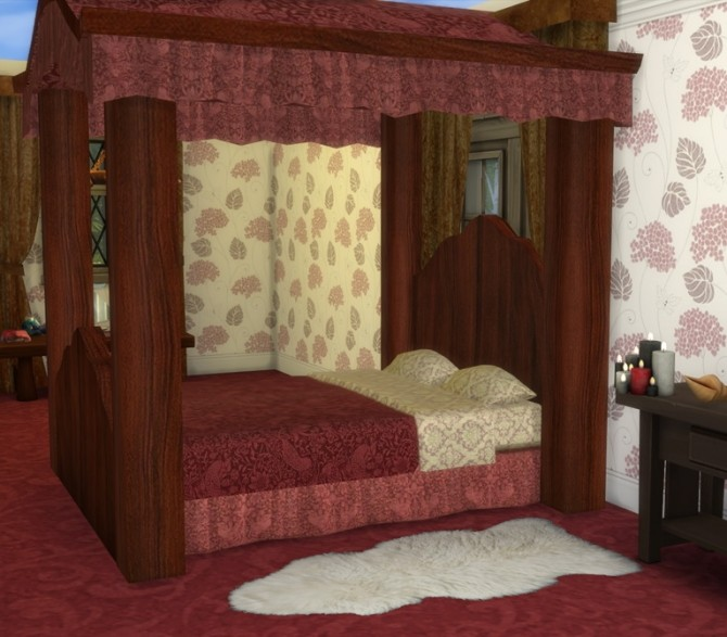 Four Poster Bed At Sims 4 Studio Sims 4 Updates