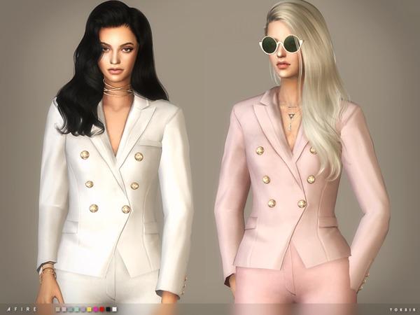 Afire Blazer By Toksik At TSR Sims 4 Updates