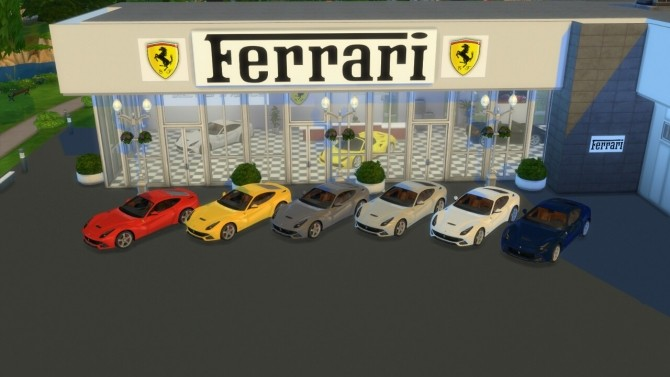 We're proud to serve our nearby neighbors in virginia beach and norfolk, virginia. Ferrari F12 Berlinetta at LorySims » Sims 4 Updates