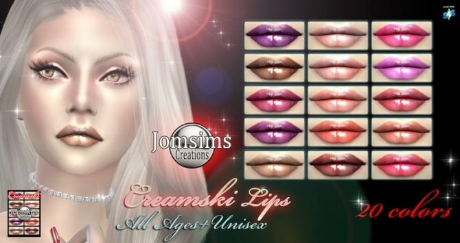 Eyemasks Lips Eyeshadows At Jomsims Creations Sims 4