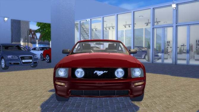 Ford Mustang Gt 2005 At Oceanrazr 187 Sims 4 Updates