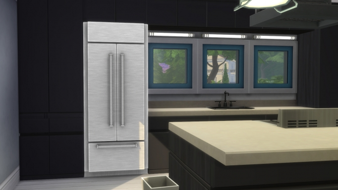Cold Things Stainless French Door Refrigerator By Ladymumm At Mod The Sims Sims 4 Updates