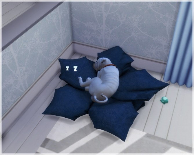 Maple Leaf Pet Bed At Helen Sims Sims 4 Updates