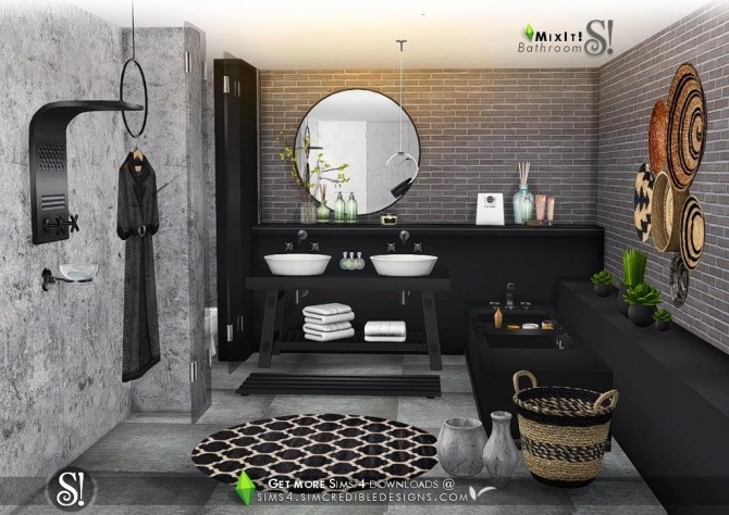 The official subreddit for the sims franchise. Mix It! bathroom set at SIMcredible! Designs 4 » Sims 4 ...