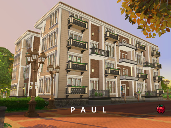 Paul Apartment Building By Melles At