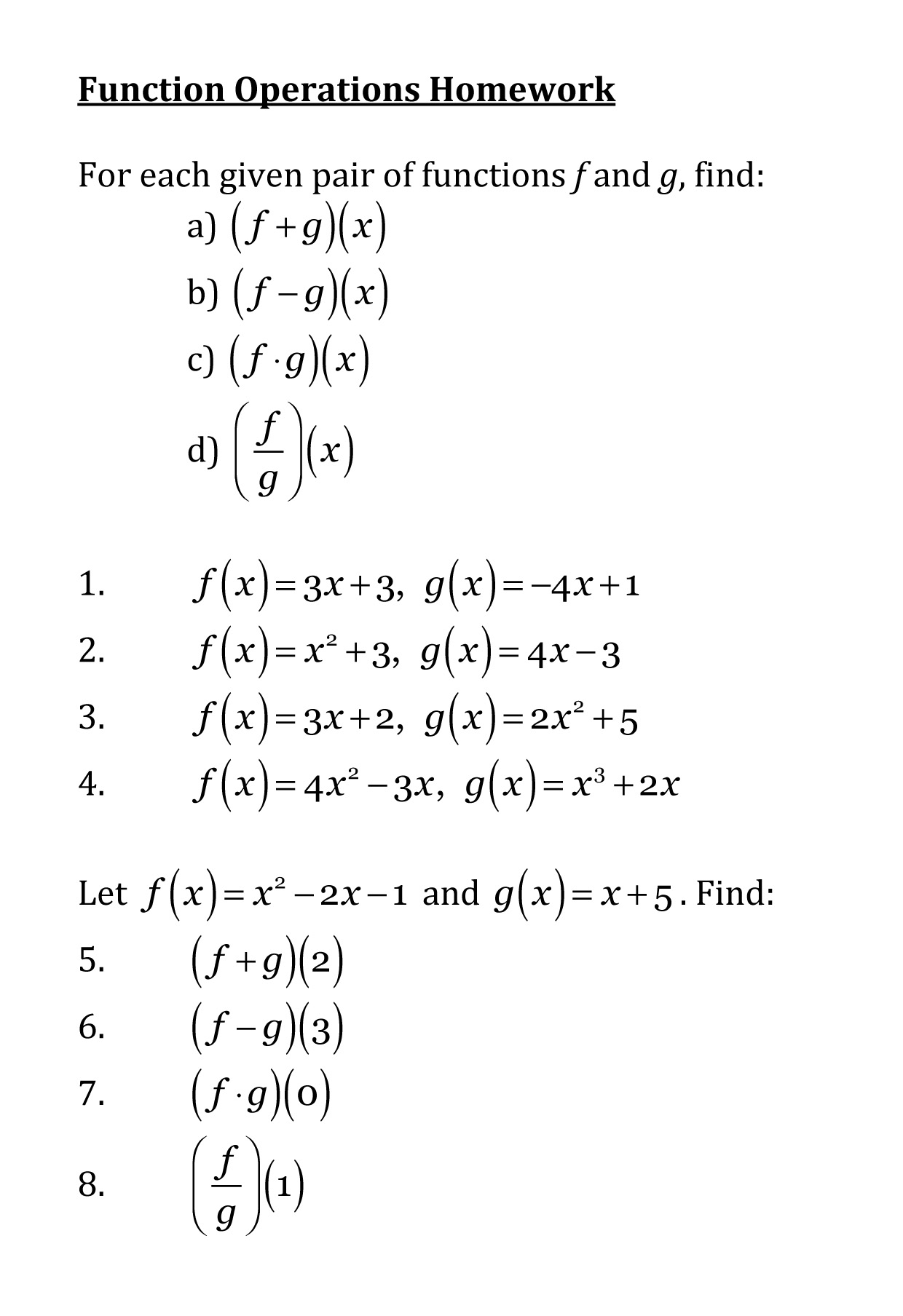 45 Worksheets For Order Of Operations For Worksheets Of