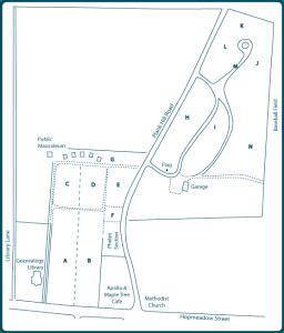 Simsbury Cemetery Map