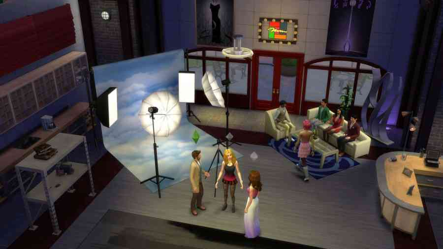 The Sims 4 Get To Work  Photography Shop Screenshot