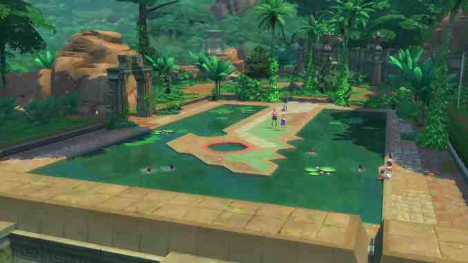 Image result for the sims 4 jungle adventure