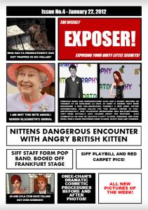 expose magazine cover