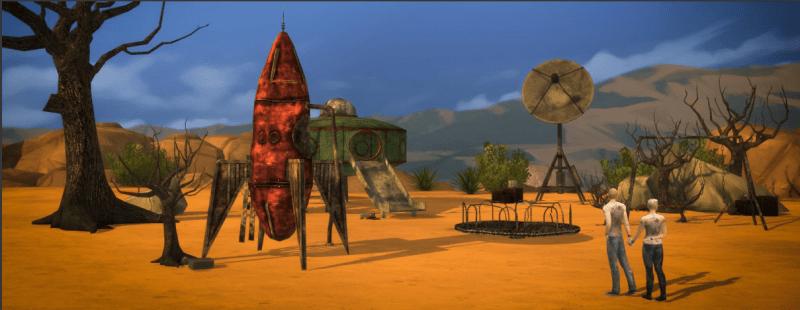 sims 4 wasteland
