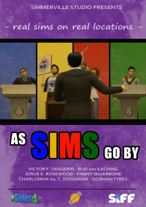 As Sims Go By Poster