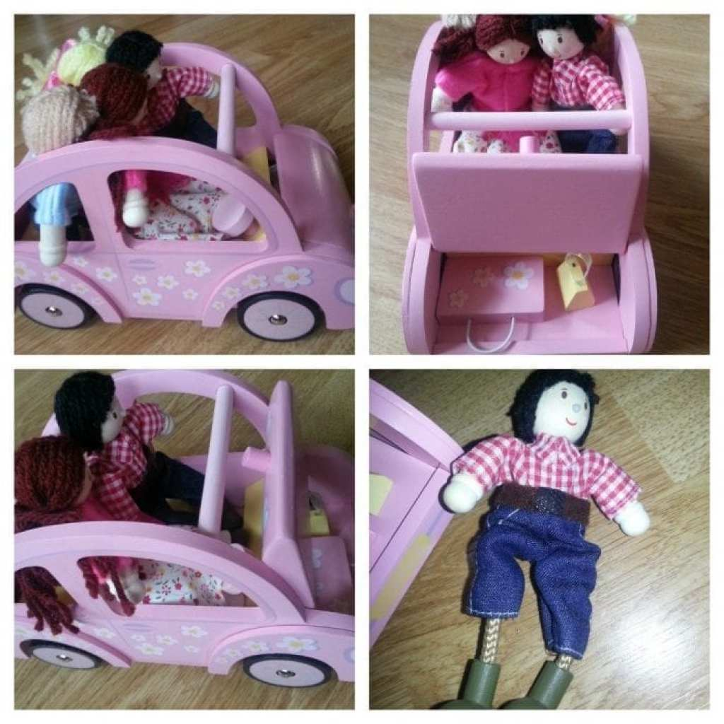 Le Toy Van Sophies Car and My Family Dolls