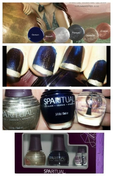 Sparitual Evolve Swatches Review: Swatch: SpaRitual Autumn/Winter 2012 Metal Collection Nail