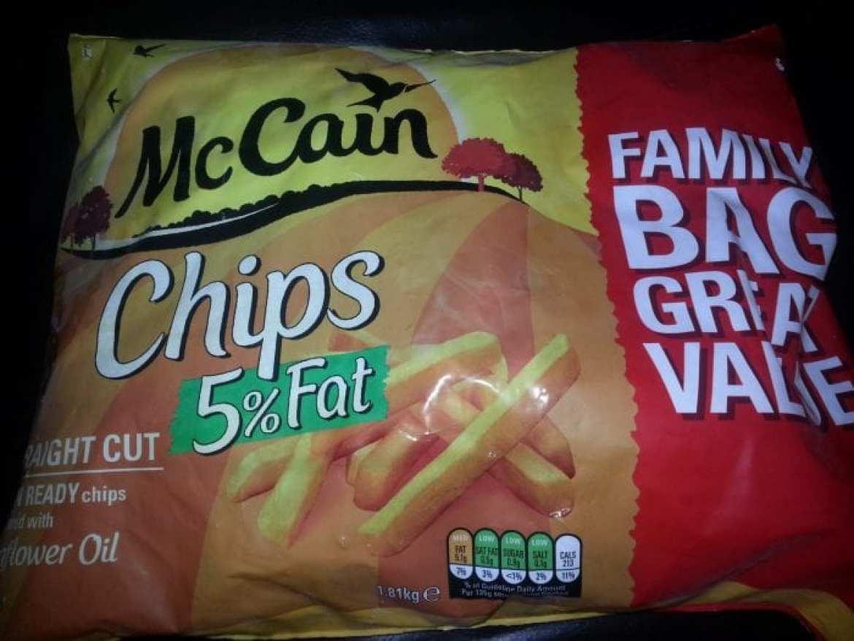 McCain 5% Fat Chips