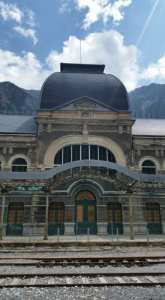CanFranc Train Station