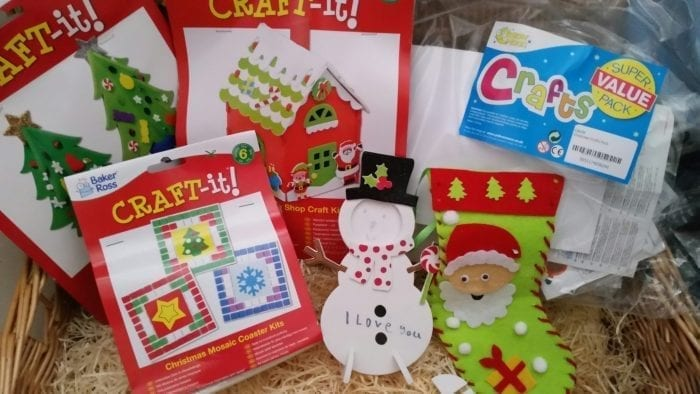 baker ross Craft-it Gingerbread House Photo Frame Decorating Kits